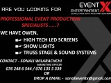 Professional Event Production Specialists