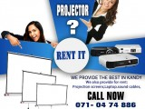 PROJECTOR RENT IN KANDY