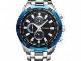 CSB377 Current Silver Blue mens watch