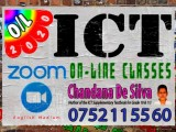 ICT On-Line Zoom Classes for G.C.E. (O/L) Examination (80)