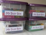 Math Busy Box