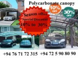 poly carbonate canopy , window canopy , car porch